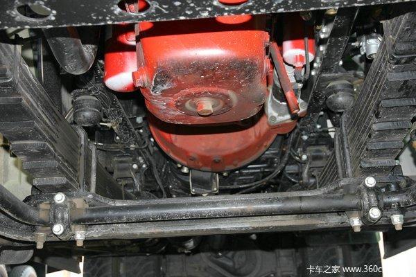 陕汽 德龙F3000重卡 345马力 6X4 自卸车(SX3256DR3841)底盘图