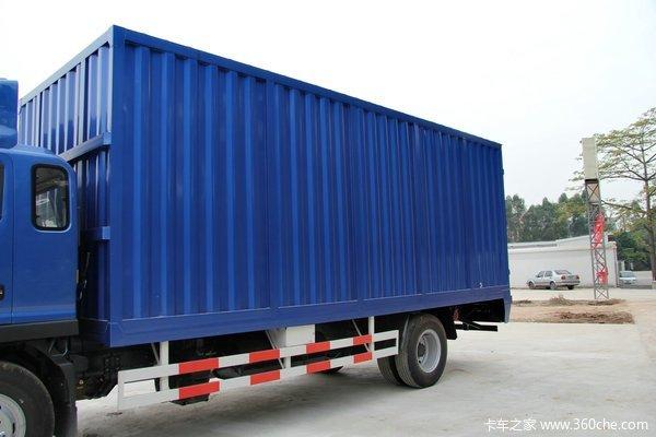 江淮 帅铃威司达W530 160马力 4X2 6.75米厢式载货车(HFC5110XXYP70K1E1)上装图