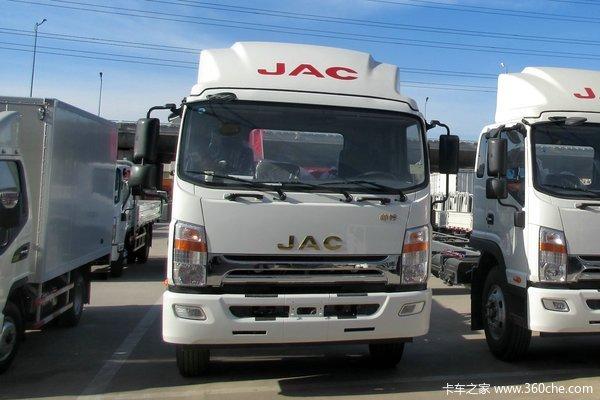 江淮 帅铃威司达W470 165马力 4X2 6.2米栏板式载货车底盘(HFC1131P70K1D4)