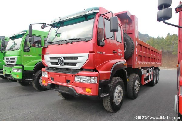 中国重汽 斯达 斯太尔 310马力 8X4 自卸车(ZZ3311N386GD1)外观图