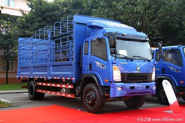 重汽王牌 7系中卡 180马力 4X2 载货车(CDW1161HA1R4)