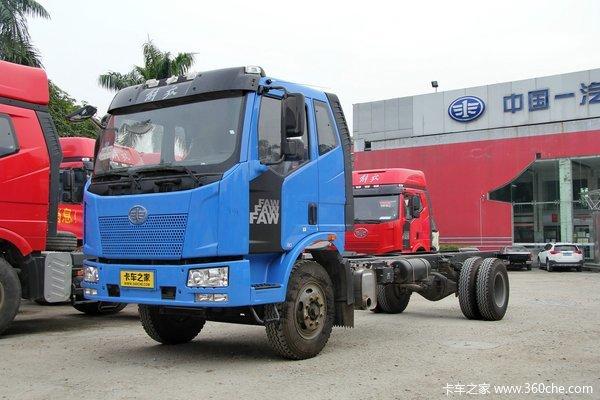 解放 J6L中卡 180马力 4X2 栏板式载货车底盘(CA1160P62K1L3A2E4)
