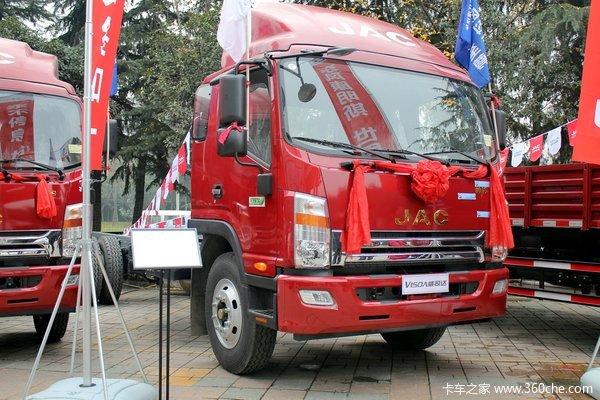 江淮 帅铃威司达W530 165马力 4X2 7.5米厢式载货车(底盘)(HFC5162XXYP70K1E1)