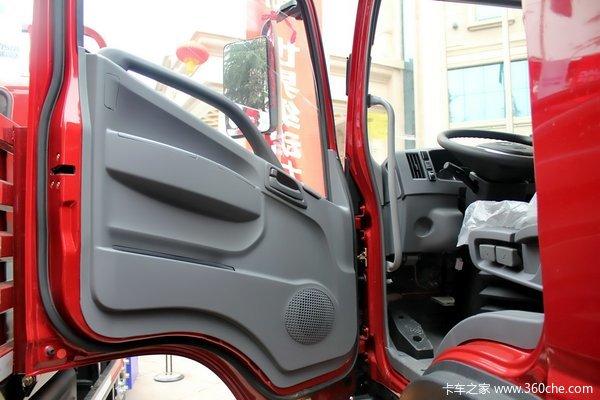江淮 帅铃威司达W530 165马力 4X2 7.5米厢式载货车(底盘)(HFC5162XXYP70K1E1)驾驶室图