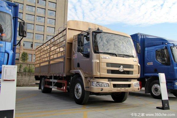 东风柳汽 乘龙中卡 170马力 4X2 仓栅载货车(LZ5120CCYRAPA)外观图