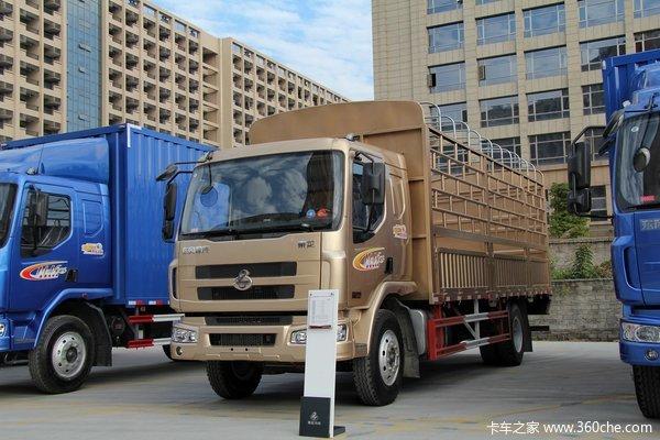 东风柳汽 乘龙中卡 170马力 4X2 仓栅载货车(LZ5120CCYRAPA)