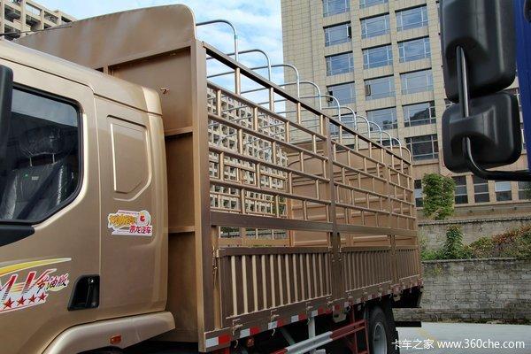 东风柳汽 乘龙中卡 170马力 4X2 仓栅载货车(LZ5120CCYRAPA)上装图