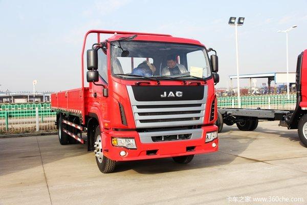 江淮 格尔发K6系列中卡 165马力 4X2 排半载货车(迈斯福动力)(HFC1161PZ5K1E1AF)外观图