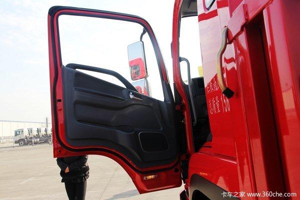 江淮 格尔发K6系列中卡 165马力 4X2 排半载货车(迈斯福动力)(HFC1161PZ5K1E1AF)驾驶室图