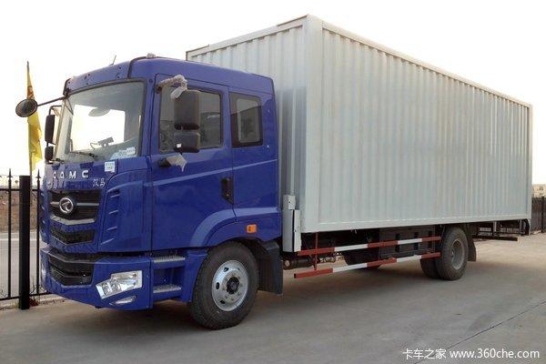 华菱 汉马重卡 160马力 4X2 单排厢式载货车(HN5160XXYC16C8M4)