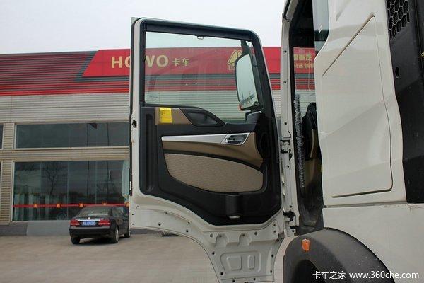 中国重汽 HOWO T5G重卡 340马力 8X4 载货车底盘(ZZ1317N466GD1)驾驶室图
