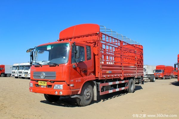 东风 天锦中卡 160马力 4X2 仓栅载货车(DFL5140CCYBX18A)