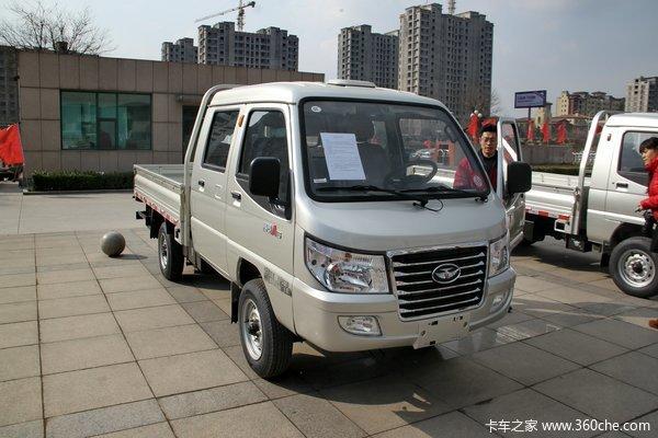 唐骏赛菱A6 1.1L 61马力 双排栏板式微卡(汽油/CNG)