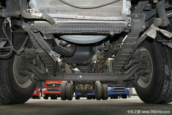 中国重汽 HOWO T5G重卡 180马力 4X2 排半厢式载货车底盘(ZZ1167H501GD1)底盘图