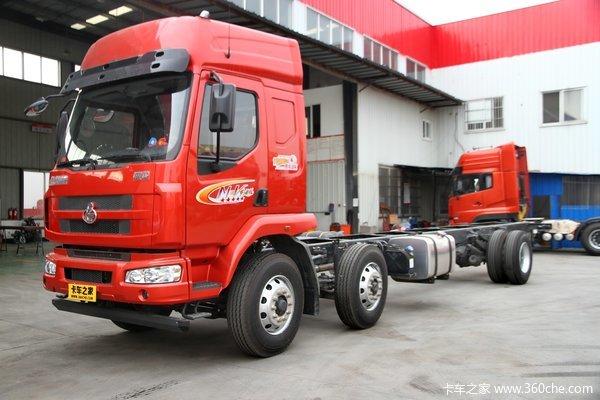 东风柳汽 霸龙重卡 220马力 6X2 载货车底盘(LZ5200XXYM3CA)