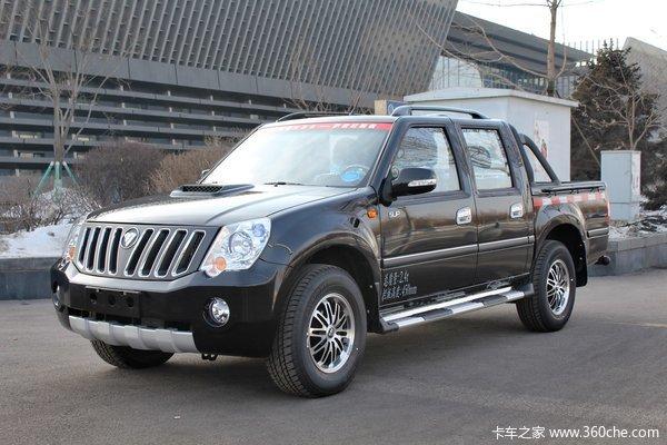 福田 萨普Z6 征服者 2.8L柴油 95马力 四驱 双排皮卡(舒适版)