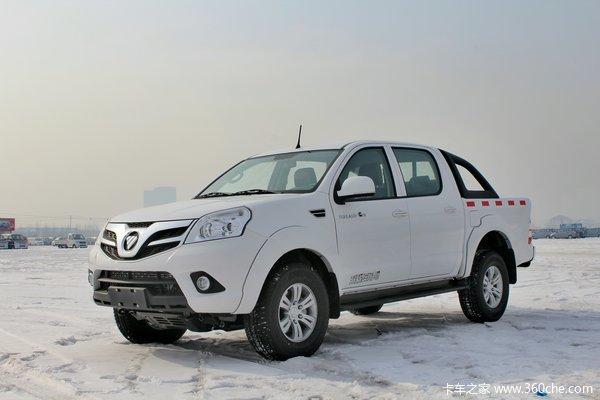 福田 拓陆者S 至尊版 2.8L柴油 160马力 四驱 双排皮卡(超值版)