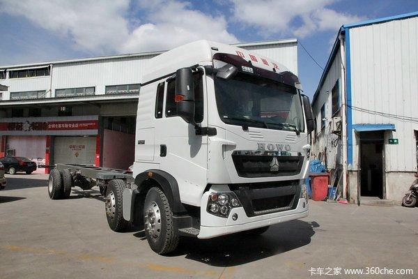 中国重汽 HOWO T5G重卡 240马力 6X2 厢式载货车底盘(ZZ1257K56CGD1)外观图