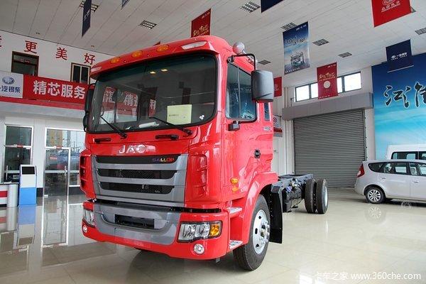 江淮 格尔发K3系列中卡 180马力 4X2 载货车底盘