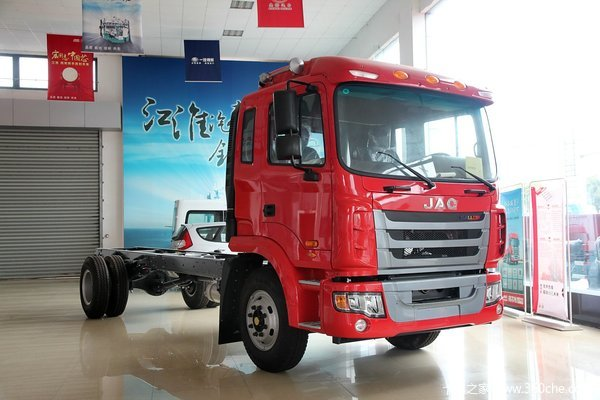 江淮 格尔发K3系列中卡 180马力 4X2 载货车底盘外观图