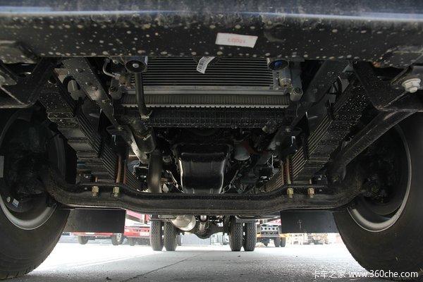 江淮 帅铃威司达W570 160马力 4X2 7.55米厢式载货车(重载版)底盘图
