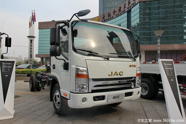 江淮 帅铃H中卡 160马力 4X2 单排载货车底盘(宽体)(HFC1061P71K1C6)