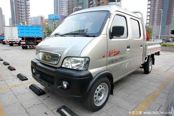 江淮 康铃X 1.1L 60马力 汽油 双排栏板微卡