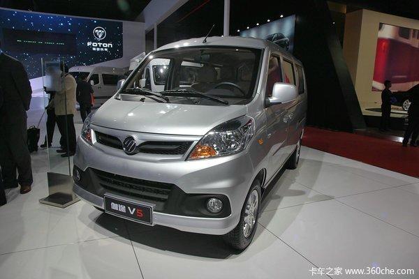 福田伽途V5 86马力1.2L微面 豪华型 伽途V5面包车 福田欧曼 世纪卡车网官网