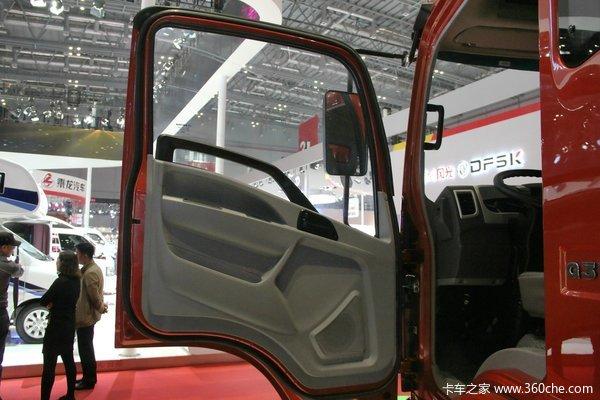 中国重汽HOWO轻卡 160马力 4X2 5.75米排半厢式(ZZ5127XXYG451CD1)驾驶室图