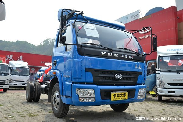 南京依维柯 跃进 帅虎H500 113马力 4X2 5.06米单排箱式载货车(NJ5040XXYDCJT5)