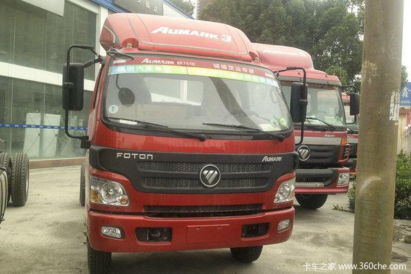 福田 欧马可3系 154马力 4X2 5.15米厢式载货车(BJ5168XXY-F1)