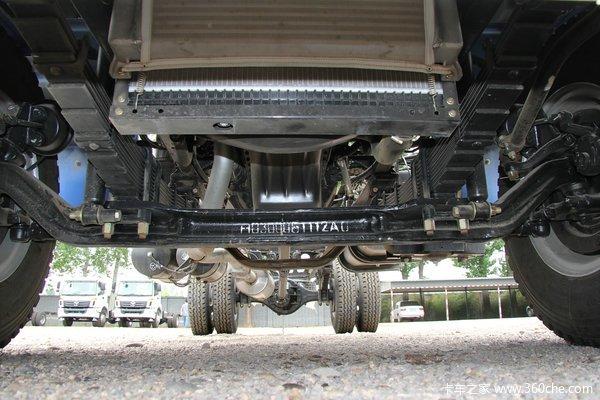 福田 欧曼ETX 3系中卡 170马力 4X2 载货车底盘(BJ5163CCY-XE)底盘图