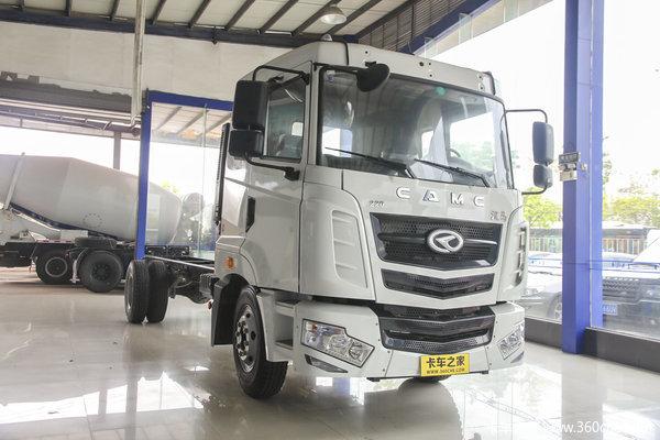 华菱 汉马中卡 160马力 4X2 厢式载货车底盘(HN5160XXYC16C8M4)外观图