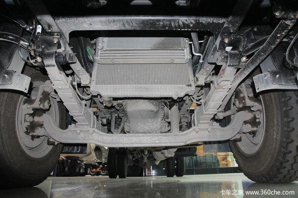 华菱 汉马中卡 160马力 4X2 厢式载货车底盘(HN5160XXYC16C8M4)底盘图