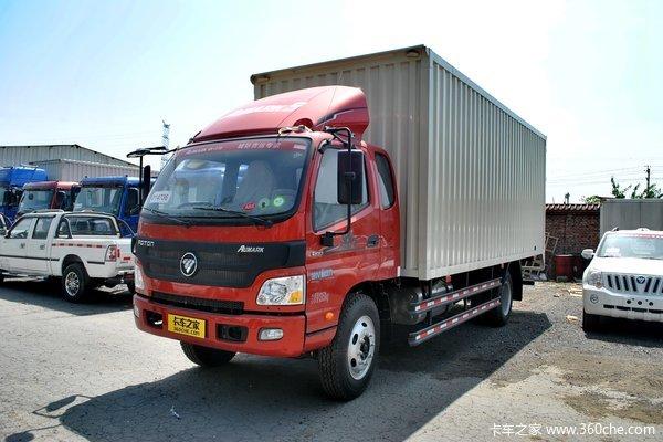 福田 欧马可5系 168马力 4X2 厢式载货车(BJ5139XXY-F2)