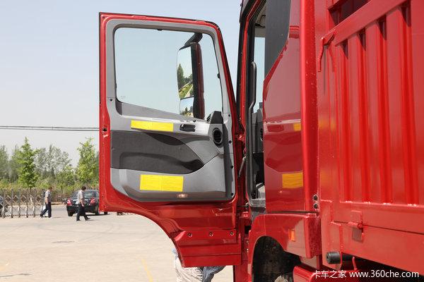 福田 欧曼GTL超能版 山区型 350马力 8X4 仓栅式载货车(BJ1319VPPKJ-XC)驾驶室图