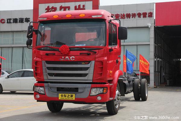 江淮 格尔发K3系列中卡 150马力 4X2 载货车底盘(HFC1161PZ5K1E1AF)