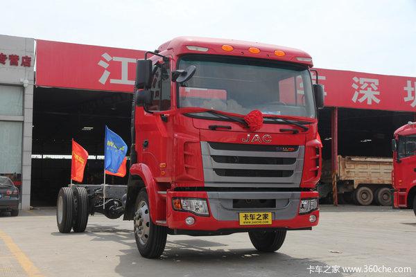 江淮 格尔发K3系列中卡 150马力 4X2 载货车底盘(HFC1161PZ5K1E1AF)外观图