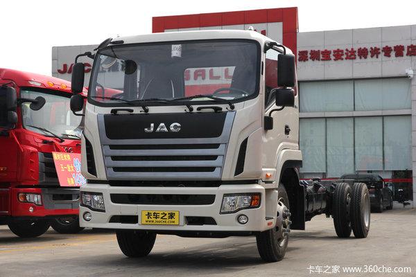 江淮 格尔发K6系列中卡 165马力 4X2 排半载货车(迈斯福动力)(HFC1161PZ5K1E1AF)