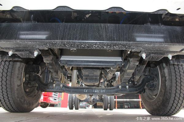 江淮 格尔发K6系列中卡 165马力 4X2 排半载货车(迈斯福动力)(HFC1161PZ5K1E1AF)底盘图