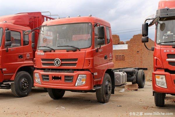 东风神宇 御虎中卡 180 4X2 5100轴距载货车底盘(DFS5168CCYL1)