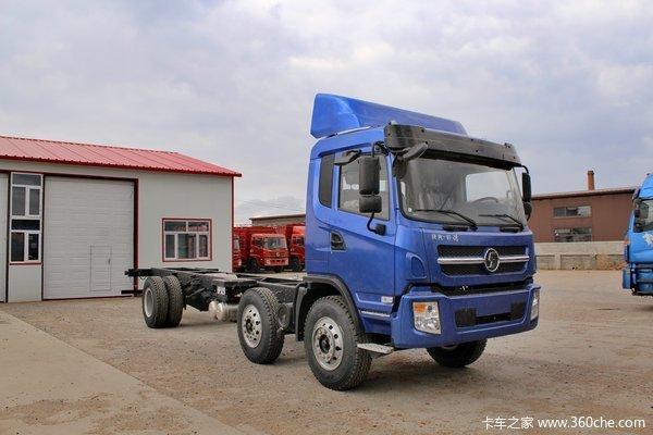 陕汽宝华 轩德中卡 220马力 6X2 8.6米载货车底盘(SX5254CCYGP4)