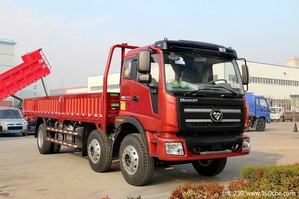 福田 瑞沃中卡 210马力 6X2 7.5米栏板式载货车(BJ5255CCY-1)