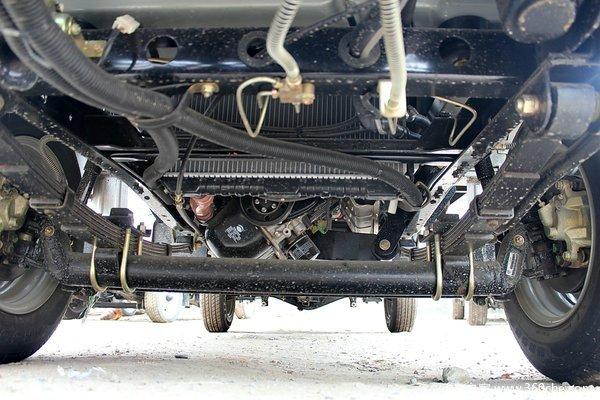 凯马 锐菱 1.051L 60马力 汽油 单排栏板式微卡底盘图