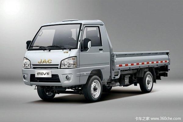 江淮 好运V系 1.051L S系 60马力 汽油 单排栏板式微卡