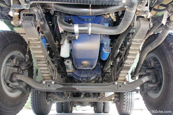 陕汽 德龙新M3000 336马力 8x4 新型环保渣土车(SX3316HR326)底盘图