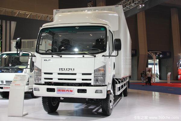庆铃 五十铃700P 188马力 4X2 厢式载货车(QL11019PARY)