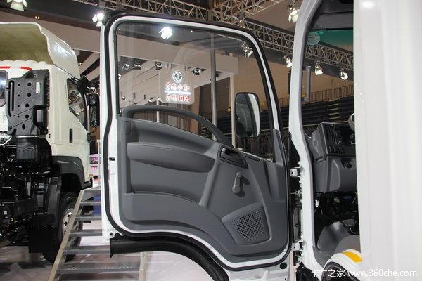 庆铃 五十铃700P 188马力 4X2 厢式载货车(QL11019PARY)驾驶室图