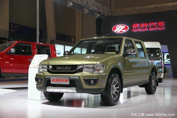 2015款庆铃五十铃 TF系列 2.8L柴油 两驱 双排皮卡