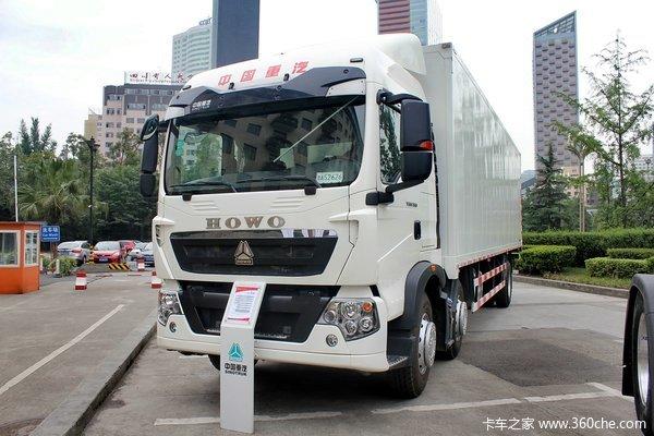 中国重汽 HOWO T5G重卡 310马力 6X2 厢式载货车(ZZ5257XXYM56CGE1)